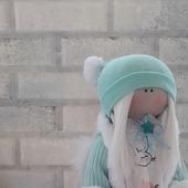 Кукла текстильная Зимний ангел