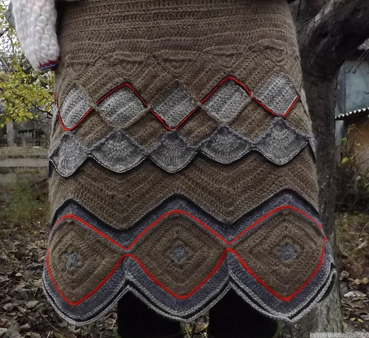 fe8662e52b4 Вязаная шерстяная юбка. Юбка из верблюжьей пряжи. Теплая юбка крючок ручной  работы на заказ