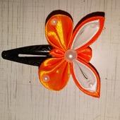 Заколка - бабочка 'Клик - клак'