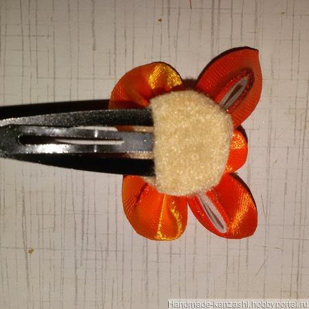 Заколка - бабочка 'Клик - клак' ручной работы на заказ