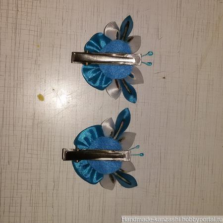 Заколка 'Бабочка' ручной работы на заказ