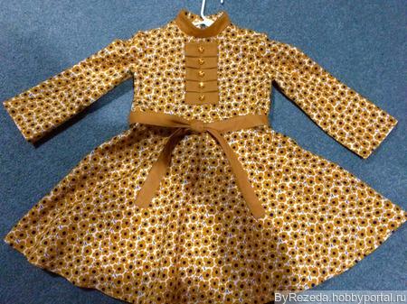 Платье для девочки 5-6 лет ручной работы на заказ