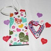 """Магниты-валентинки """"Серце"""" на холодильник"""