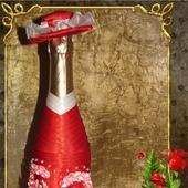 фото: Свадебные аксессуары — свадебный салон (бутылка шампанского)
