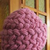 """Комплект шапка и шарф """"Нежно-розовый"""""""