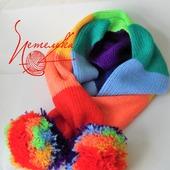 Rainbow шарф