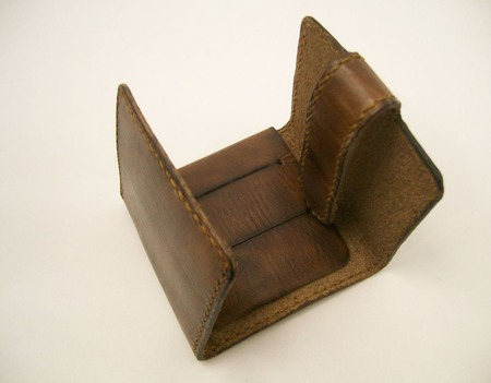 Кошелек-кардхолдер ручной работы на заказ