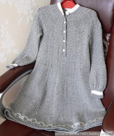 Мастер класс. Платье для девочки 7-9 лет ручной работы на заказ