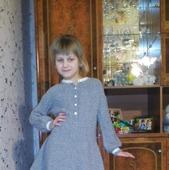 Мастер класс. Платье для девочки 7-9 лет