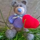 Влюбленный мишка-Топтыжка!
