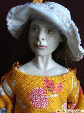 Кукла для бережной, аккуратной девочки ручной работы на заказ