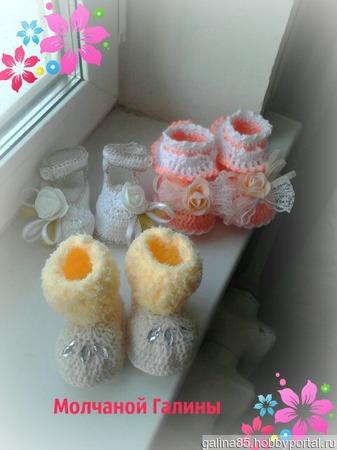 Комплекты для новорожденной девочки ручной работы на заказ