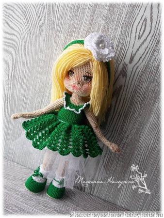 Кукла Лиза ручной работы на заказ