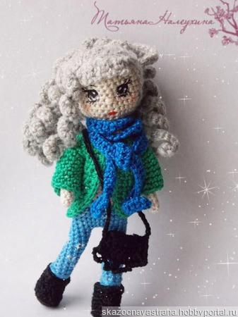 Кукла модница ручной работы на заказ