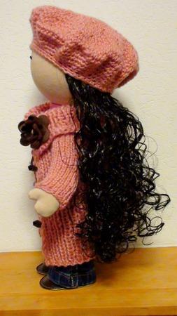 Текстильная кукла ручной работы ручной работы на заказ