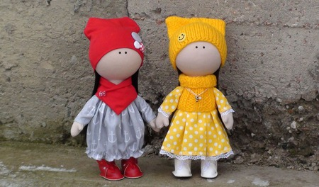 Кукла Сонечка 28 см ручной работы на заказ