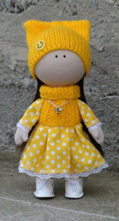 Кукла Солнышко 28 см ручной работы на заказ