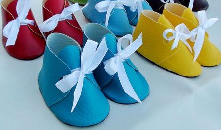 Обувь для кукол ростом 28-30 см ручной работы на заказ