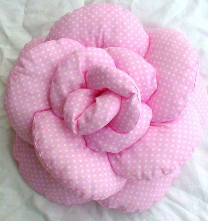 Подушечка- цветок ручной работы на заказ