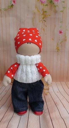 Кукла интерьерная  34 см ручной работы на заказ