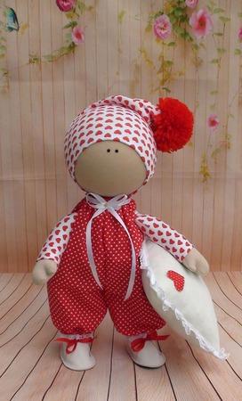 Кукла текстильная  34 см ручной работы на заказ