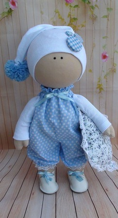 Кукла интерьерная  37 см ручной работы на заказ