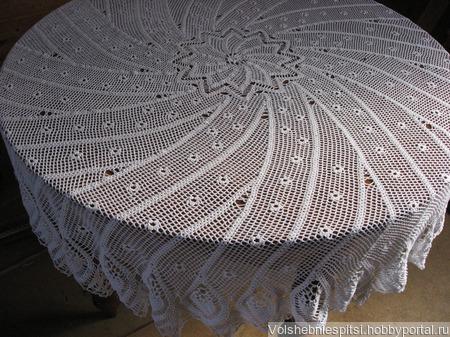 Скатерть Парад Цветов ручной работы на заказ