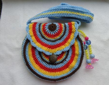 Сумочка маленькой моднице ручной работы на заказ