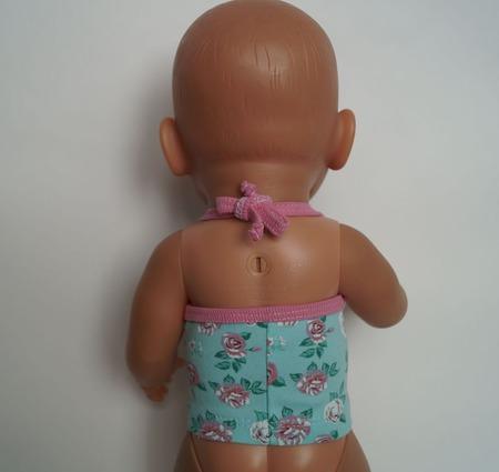 Топ с розами для беби бон (baby born) ручной работы на заказ