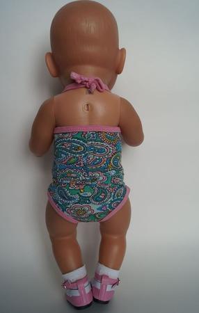 Топ и трусики для беби бон (baby born) ручной работы на заказ
