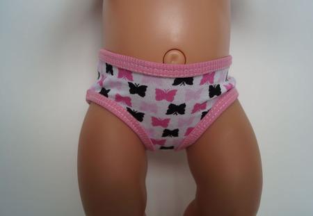 Трусики для беби бон, одежда для baby born ручной работы на заказ