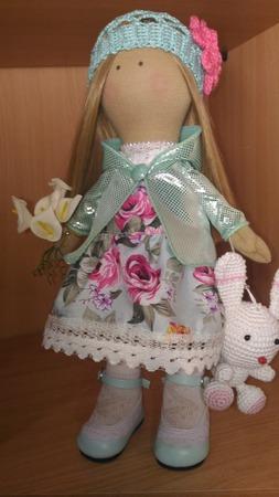 Кукла в подарок ручной работы на заказ