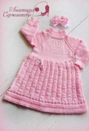 """Платье для девочки """"Сердечко"""" ручной работы на заказ"""