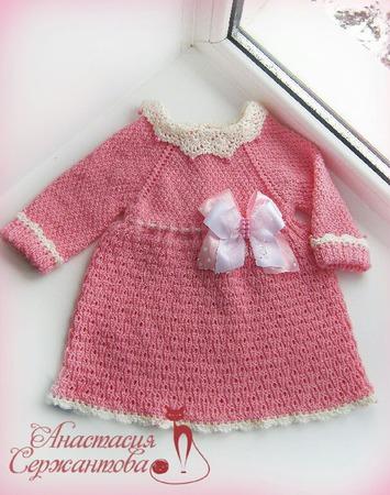 """Платье для девочки """"Куколка"""" ручной работы на заказ"""