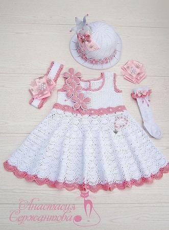 """Платье """"Принцесса"""" с аксессуарами ручной работы на заказ"""