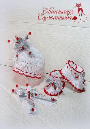 """Летний комплект """"Принцесса Белоснежка"""" ручной работы на заказ"""