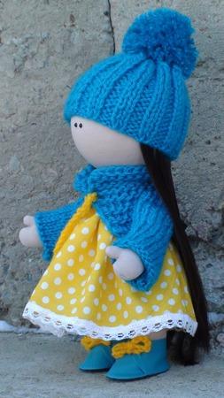 Кукла ручной работы 30 см. ручной работы на заказ