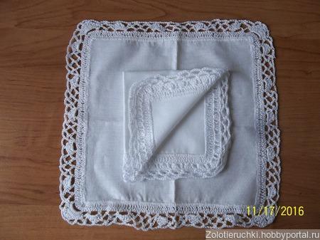 Носовой платочек ручной работы на заказ