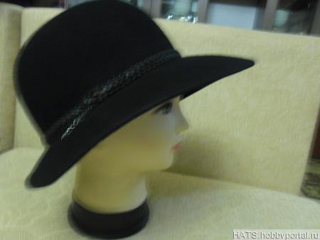 Фетровая шляпка ручной работы на заказ