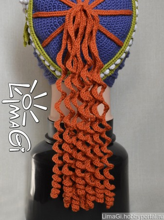 """Шапочка """"Мерида"""" - описание вязания ручной работы на заказ"""