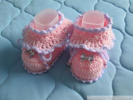 Комплект для новорождённого ручной работы на заказ