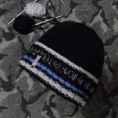 "Вязаная шапка ""Life"""