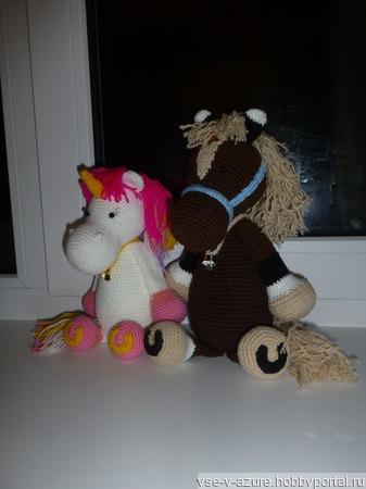 """Лошадки из серии """"Скотный двор"""" ручной работы на заказ"""