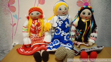 Вязаные куклы ручной работы на заказ