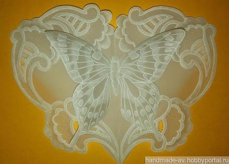 Бабочка ручной работы на заказ
