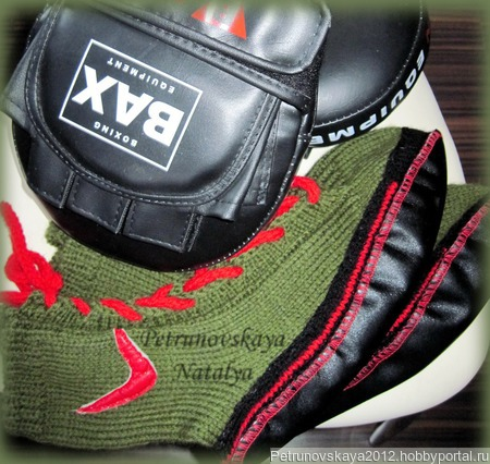 "Кеды ""Nike"" вязаные ручной работы на заказ"