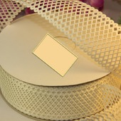 Декоративная лента, перфорированная 35 мм