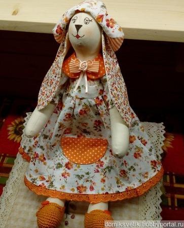 Кролик в стиле Тильда ручной работы на заказ