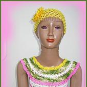"""Платье """"Summer"""" вязаное для девочки"""