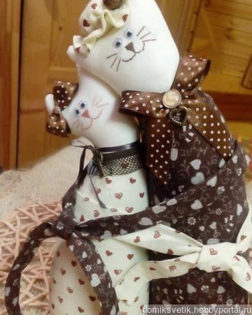 Коты-обнимашки ручной работы на заказ